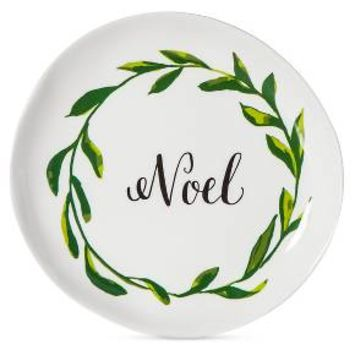 """Noel"" 7.8in Melamine Appetizer Plate Set of 4 - Threshold™"