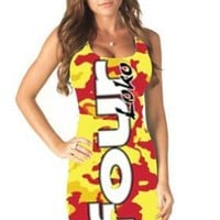 Four Loko Alcoholic Drink Ladies Tank Dress