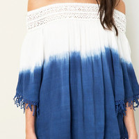 Dip Dye Off-the-Shoulder [PREORDER]
