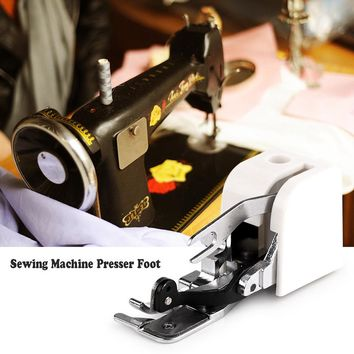 Side Cutter Sewing Machine Presser Foot Attachment Accessory for All Low Shank Singer Janome Brother