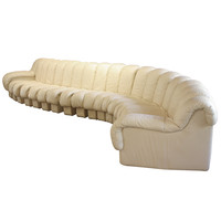 De Sede non-stop leather sofa DS-600