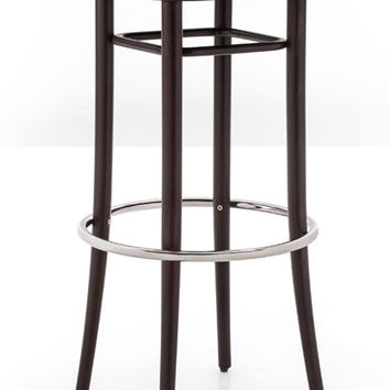 Gebruder Thonet Vienna 144 Bentwood Bar Stool (Upholstered) by GTV