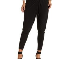 Asymmetrical Wrap Trousers by Charlotte Russe