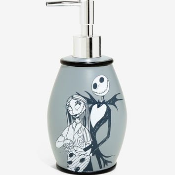 The Nightmare Before Christmas Jack & Sally Soap Pump