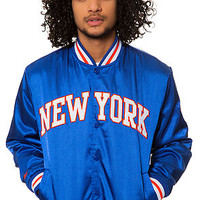 The New York Knicks Jacket in Blue