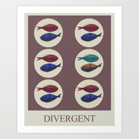 Divergent Art Print by Galen Valle