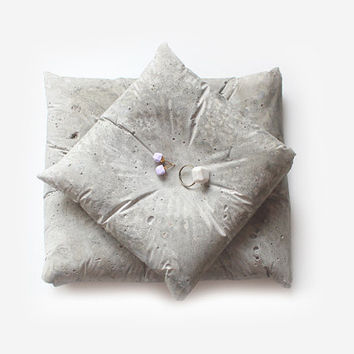 concrete pillow - small