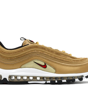 "Nike Air Max 97 Og Qs ""2017 Release"" - Nike - 884421 700 - metallic gold/varsity red 