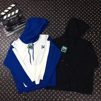 ONETOW PUMA Casual Sport Hooded Top Sweater Pullover Hoodie