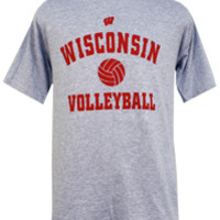 Wisconsin Badgers Volleyball Sport T-Shirt