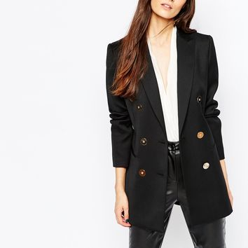 Reiss Lavinnia Double Breasted Jacket