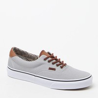 Vans Silver C&L Era 59 Shoes - Mens Shoes - Silver