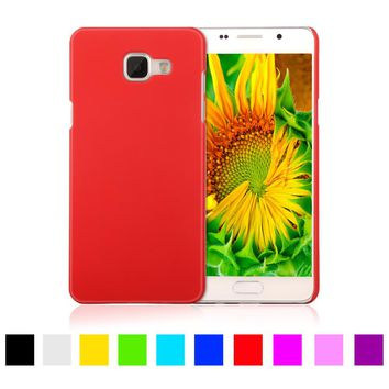 Matte Rubberized Hard Plastic Case For Samsung Galaxy A5 2016 A510 A510F 5.2 inch Back Cover Mobile Phone Protective Case Shell