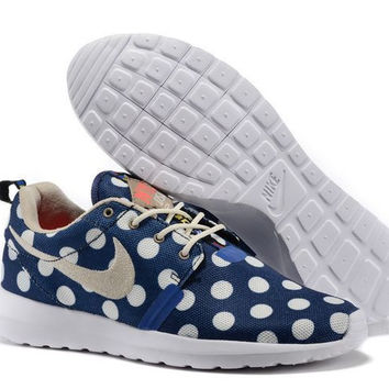 Nike Roshe Run NM City QS (New York City Pack Polka Dot Navy)