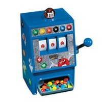 M&M'S SLOT MACHINE CANDY DISPENSER