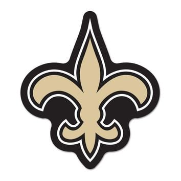 New Orleans Saints NFL Automotive Grille Logo on the GOGO