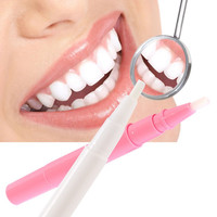 New Tooth Whitening Gel Pen Whitener Cleaning Bleaching Kits Dental Teeth White Pink 78