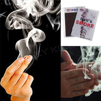 5X Close-Up Magic Change Gimmick Finger Smoke Hell's Smoke Fantasy Trick Props 3