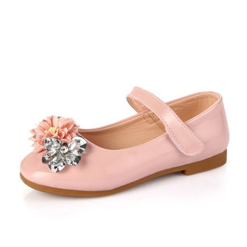 Kids Summer Shoes Girls Elegent Fashionable Shoes Soft Squishy Sandals Flat Casual Shoes