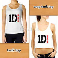 One Direction 1D Matchingpalace tank top Custom Woman Crop Tank , Woman Tank Top , Man Tank Top