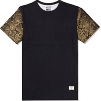 Black/Gold Mr. Metallic Snake T-Shirt