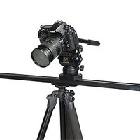 "fancierstudio Camera Track Slider Camera Silder Video Slider 32"" With Ball-Bearing Slide Mechanism By fancierstudio JS32"