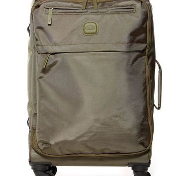 Bric's Luggage | 21' Nylon Carry-On Spinner with Frame Suitcase