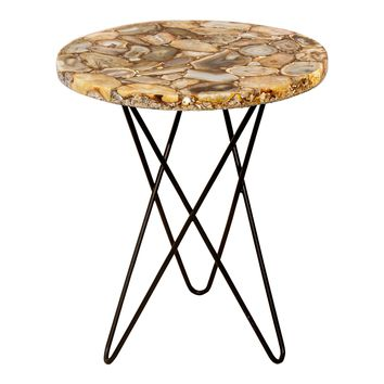 Natura Agate Accent Table Natural