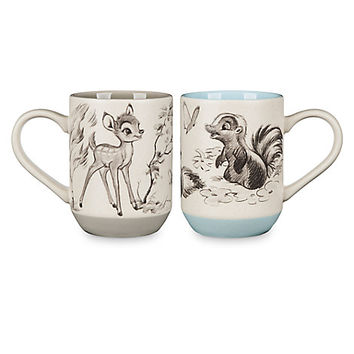 Bambi 75th Anniversary Mug Set | Disney Store