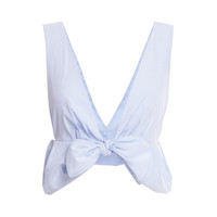 Tie Front Crop Top by Thakoon - Moda Operandi