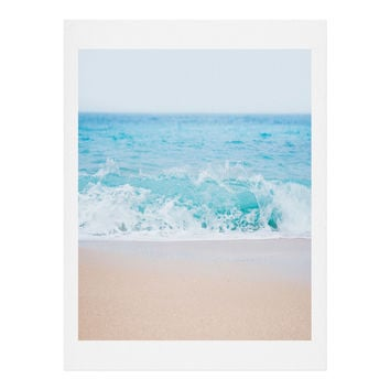 Bree Madden Pale Blue Sea Art Print