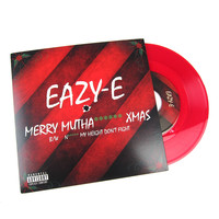 "Eazy-E: Merry MF X-Mas (Colored Vinyl) Vinyl 7"" (Record Store Day)"