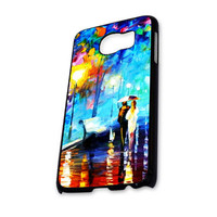 Walking in the Rain Painting Samsung Galaxy S6 Case