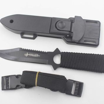 """8.5"""" Scuba Diving Knife Stainless Steel"""