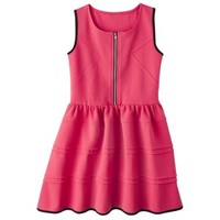 D-Signed Girls' Dress - Red
