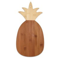 Totally Bamboo Pineapple-Shaped Cutting/Serving Board