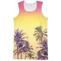 Palm Treez Racerback Tank Top