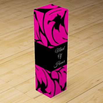 WILL YOU BE MY MAID OF HONOR WINE GIFT BOX