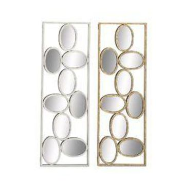 Outstanding Metal Mirror Wall Panel 2 Assorted