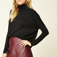 Contemporary Boxy Turtleneck