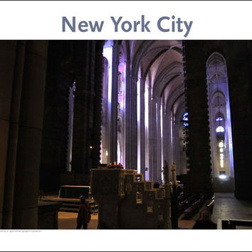 St. John the Divine, Place Photo Poster Collection #147, NYC