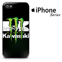 Top Famous Kawasaki Logo Green Energy Fit Hard Case For iPhone 7 8 Plus X Cover