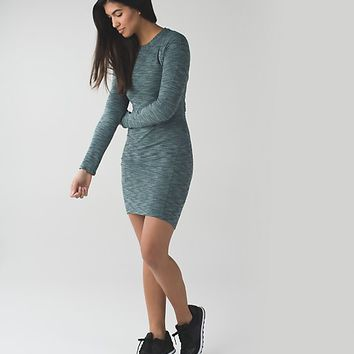 &go where-to dress *long sleeve | women's dresses | lululemon athletica