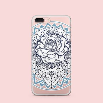 CLEARANCE Mystic Rose - Clear Case Cover
