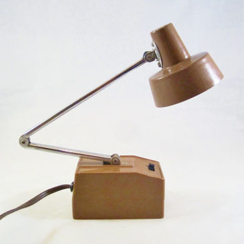 Vintage Electric DESK LAMP Adjustable Neck