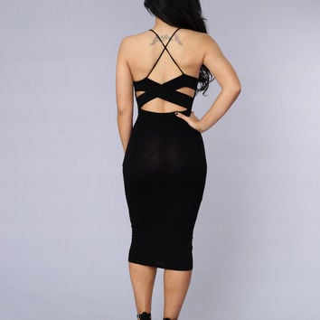 Paloma Dress - Black