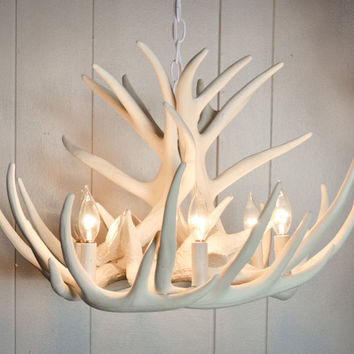 Faux Antler Chandelier, Antler Decorating, W12C