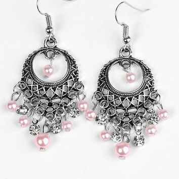 Paris After Midnight - Pink Earrings