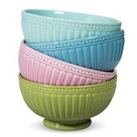 Boho Boutique Camille Solid Cereal Bowl - Set of 4 : Target
