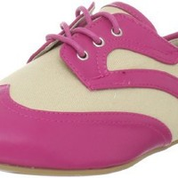 Wanted Shoes Women's Jigsaw Oxford